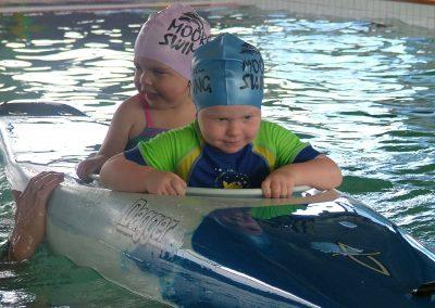 Babys in Boat